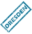 Dresden rubber stamp vector image vector image