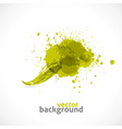 Green Grunge Symbol vector image vector image