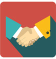 icon business agreement vector image