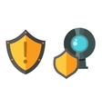 Internet safety icon isolated vector image