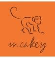 logo of monkey vector image vector image