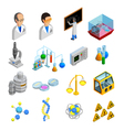 Science Icons Set vector image vector image