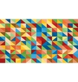 Abstract raibow colorful lowploly of many vector image vector image