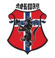 classic heraldic royal emblem vintage heraldic vector image vector image