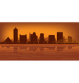 Memphis tennessee skyline vector | Price: 1 Credit (USD $1)