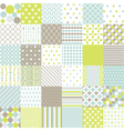 Seamless Patterns - Digital Scrapbook vector image