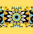 Abstract background of stained glass mandalas