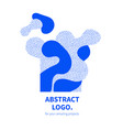 abstract design decorative logo vector image