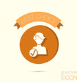 add friend avatar vector image vector image