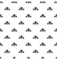 army hat pattern seamless vector image vector image