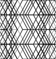 Black and white set of lines pattern vector image vector image