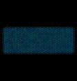 building brick composition icon of halftone vector image
