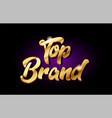 top brand 3d gold golden text metal logo icon