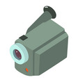camera icon isometric style vector image