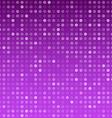 Circles purple technology pattern vector image