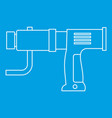 hand drill icon outline vector image vector image