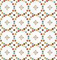 mugs in the rhombus seamless pattern vector image