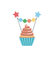 Set cupcake toppers