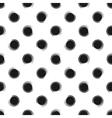 Abstract seamless pattern of grunge polka dots vector image