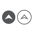 arrows collection vector image vector image