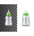 bamilk bottle isolated object vector image