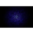 blue geometric flash 10 eps vector image vector image