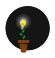 grow idea vector image