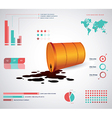 Inforgraphic template vector image vector image
