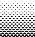 Monochrome curved shape pattern background vector image vector image