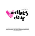 mothers day holiday background with copy space vector image vector image