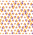 Seamless pattern with shapes in different sizes vector image