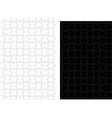 simple black puzzle vector image