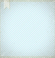Vintage background with blue diagonal stripes vector image