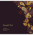 background autumn vector image vector image