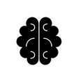 brain icon sign on isolate vector image vector image