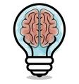 brain storming design vector image
