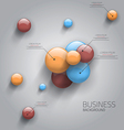 business sphere design vector image vector image