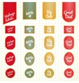 Collection of vintage retro grunge sale labels vector | Price: 1 Credit (USD $1)