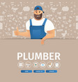 Concept page plumber service