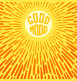 good mood vector image vector image