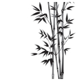 Ink paint bamboo vector image vector image