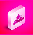 isometric jewish sweet bakery icon isolated on vector image vector image