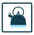 Kitchen kettle icon vector image vector image