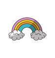 rainbow icon image vector image
