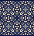 seamless pattern tile classic geometric vector image vector image