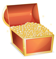 Treasure box vector image vector image