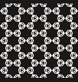 seamless pattern abstract geometric floral texture vector image