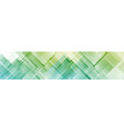 colorful abstract geometric squares web header vector image