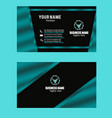 darkstategray color business card image vector image vector image