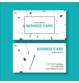 ethnic business card vector image vector image